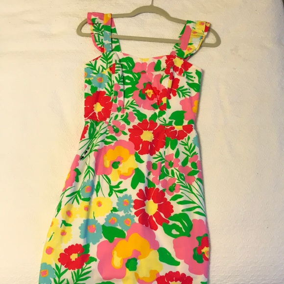 94914687a46ff4 Lilly Pulitzer Dresses & Skirts - Lilly Pulitzer Sarafina Dress Garden by  the Sea